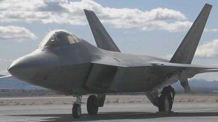 超清晰F-22隐形战机尾部矢量喷口,F-22隐形战机空中加油