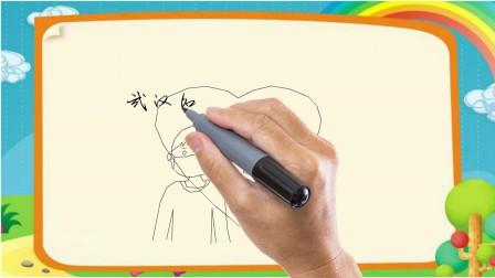武汉加油  中国加油简笔画
