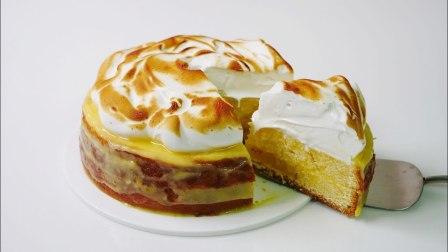 柠檬味酥皮蛋糕,美味诱人,你学会了吗?