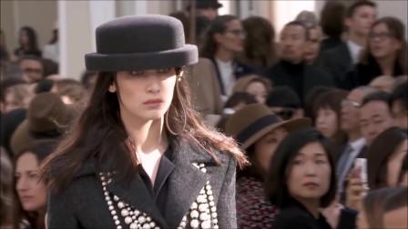 贝拉·哈迪德时装秀精彩片段