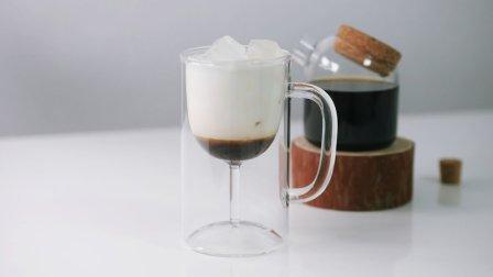 加了卡鲁阿牛奶的咖啡味道怎么样?看着就想喝!