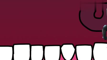 百变布鲁可:布布和可可跑到鲁鲁嘴巴里,和蛀牙虫!