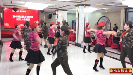 湟中县枫叶队 水兵舞《一曲相送》