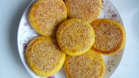奶香玉米饼的做法,色泽金黄,香甜又好吃,可以给孩子当零食吃