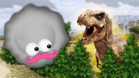 美味星球:吃货小霉球吧所有恐龙都吞了,最后连火山也不放过
