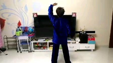 """肖金娣老师防控新型病毒性肺炎疫情期间在家里锻炼""""十分钟健身气功""""练习"""