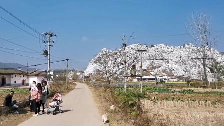 江西境内发现一座神山,很多人都以为是雪山,其实大家都被骗了