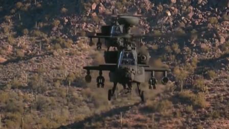 AH-64阿帕奇武装直升机组装生产线干净整洁,科技感十足
