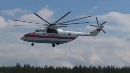 米-26直升机超宽大的机舱,是世界最大直升机