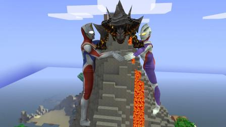 GMOD游戏奥特曼抱着火山岩浆怪兽就不会跑出来吗?