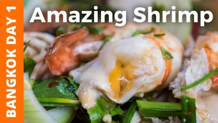 曼谷考圣路奶油状虾