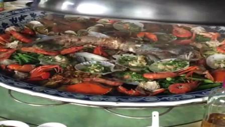 美食:广东农庄的特色蒸菜,掀开锅盖的瞬间,看得我食指大动!