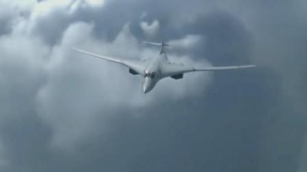 俄罗斯最强战略轰炸机图-160在极寒天气里起飞