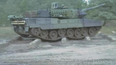 战斗全重63吨的豹2-A7主战坦克强大的机动性,绝佳的防护性