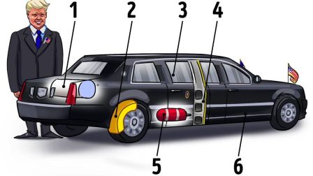 99个你不知道的秘密知识,川普的汽车有什么特殊之处?