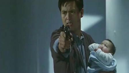 辣手神探:周润发变身超级奶爸,带着小鬼四方,霸气