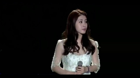 张碧晨《她说》听完这个现场,你会被她的唱功折服!气息太稳了