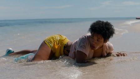 谷阿莫:她船难漂流到荒岛玩求生,竟巧遇男友和闺蜜还有鱼头人身怪《荒岛甜心》