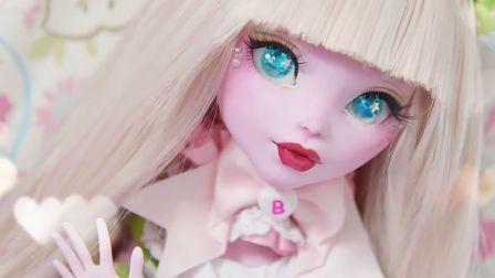【情人节特辑】月光石大佬→17大尺寸怪高Elissabat改情人节糖果风娃娃~