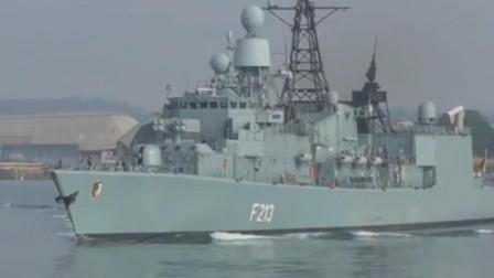 德国不莱梅级护卫舰吨位不大火力满满