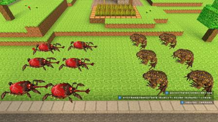 GMOD游戏癞蛤蟆可以吃掉坚硬如铁的甲虫吗?