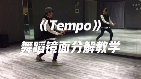 EXO《Tempo》舞蹈镜面分解教学【口袋教学】