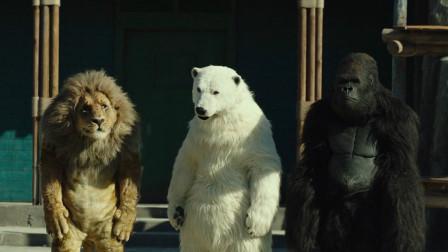 动物园没有了动物,员工只能自己扮动物骗游客,一部喜剧动物电影