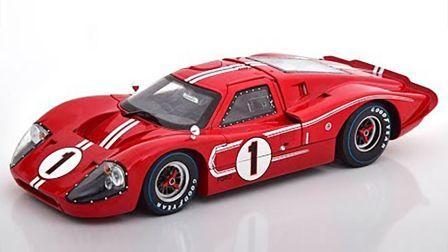 【汽车模型】Shelby 1:18 福特GT40 MKIV 勒芒1967 红