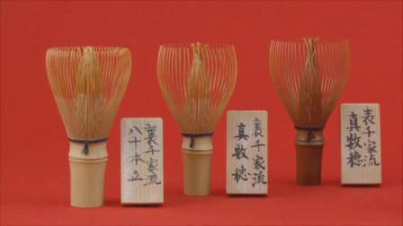 日本手艺人纯手工制作茶筅,这手艺太细腻了!
