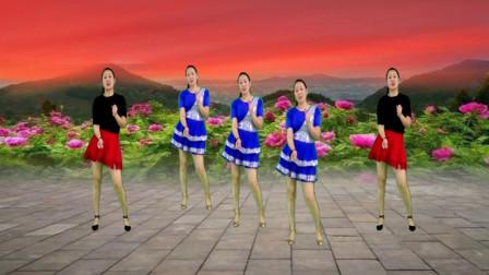 精品广场舞《小苹果》轻松欢快的旋律 舞蹈动感活力 百看不厌