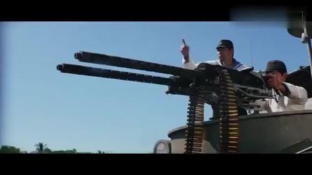 敌人太猖狂,兰博一发火箭炮教他们做人,最后一跳太帅了!