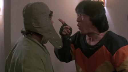 成龙:我怕了你,别跟着我了!洪金宝非是不听,这下可好玩了