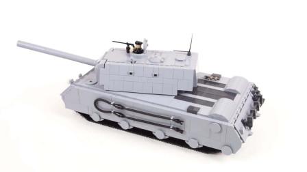 COBI积木坦克世界3032 德军攻城锤重型坦克