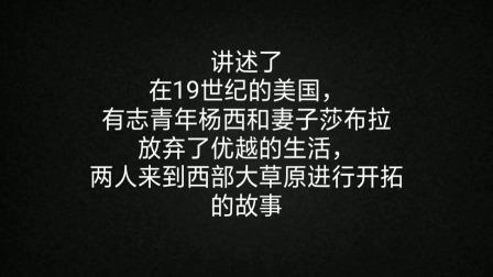 一句话概述第4届奥斯卡最佳影片《壮志千秋》,1931年美国西部片