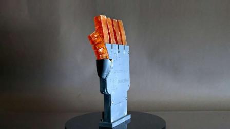 这3D打印机器人,像人体一样的柔软,居然还会出汗降温
