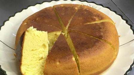 电饭锅就可以做全网最火的蛋糕,松软又好吃,做法简单