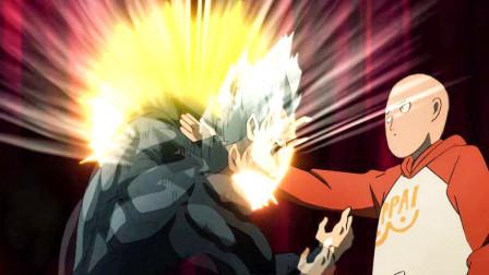 一拳超人:光头三次秒杀饿狼,理由都很牵强,第三次是因为心虚