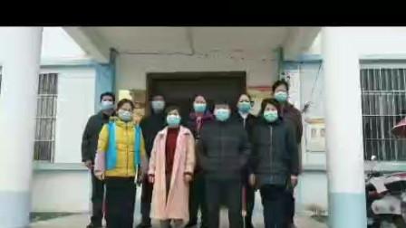 广西上林县三里镇大黄村委在疫情期间坚守岗位