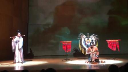 中国传统竹笛&印加那笛,完美演绎《神话》这样的文化碰撞真的好棒。右边那位大神就是演奏《最后的莫西干人》