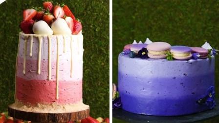 如何冰冻完美的巧克力蛋糕!!!初学者蛋糕装饰教程【So Yummy】 - 20200209