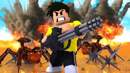 小格解说 Roblox 塔防模拟器:超级轰炸机来袭!防御丧尸入侵?乐高小游戏