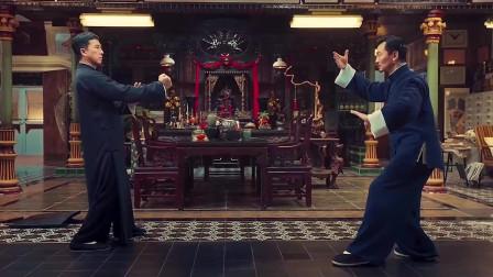 叶问4:叶问唐人街大战中华总会会长,最经典的咏春大战太极拳,实在是太精彩