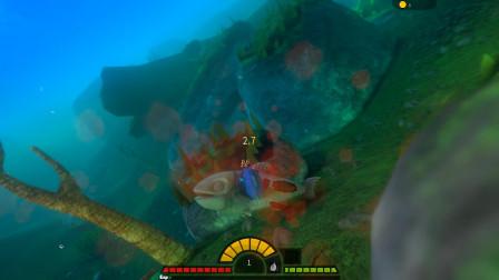 海底大猎杀:这只蓝色小鱼特别凶,几口就咬死一条大鱼
