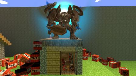 GMOD游戏汪汪队被远古铠甲困在小房子