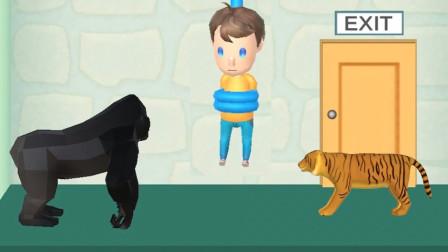 拯救熊孩子 被关在密室 想要逃出去其实很简单