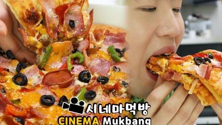 【Donam】 香肠培根披萨+芝士意面