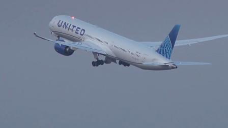 美联航暂停往返中国4座城市的航班 直至4月24日