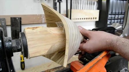 牛人制作:利用胶合板来进行木制艺术品加工,需要扬长避短!