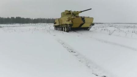 俄罗斯无人炮塔AU-220M贝加尔湖无人炮塔武器站系统