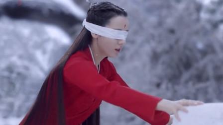 枕上书:凤九一身红衣蒙眼在雪中行走,差点摔倒被帝君接住,两人吻上了?